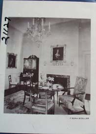 Picture Dumbarton House Parlor Postcard