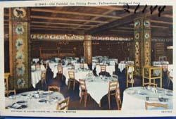 Old Faithful Inn Dining Room Yellowstone Natl Park PC