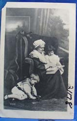 Picture of Grandmother With Grandchildren Postcard