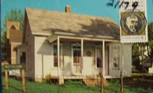 Edgar Lee Masters Home Illinois Postcard