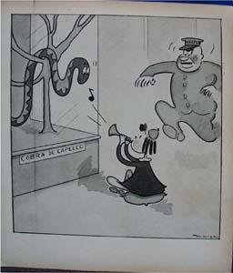 Little Lulu 1937 bookplate comic charms Cobra