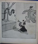 Little Lulu 1937 bookplate comic charms Cobra