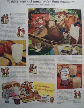 Bordens Men Act Older Ad 1947