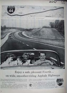 Asphalt Institute Enjoy A Safe Fourth Ad 1958
