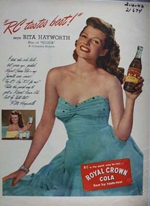 Royal Crown And Rita Hayworth Ad 1946