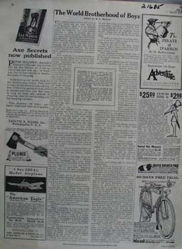Mead Cycle 30 Days Free Trial Ad 1929