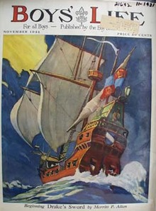 Boys Life Magazine Cover November 1931