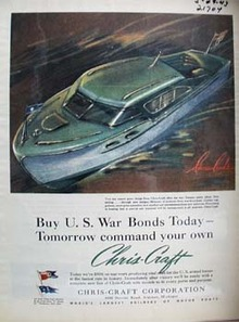 Chris Craft Tomorrow Command Your Own Ad 1943