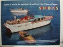 Chris Craft Showboats Ad 1957