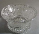 Daisy glass dish