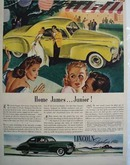 Lincoln Home James Junior Car Ad 1941
