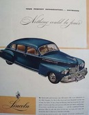 Lincoln Nothing Could Be Finer Ad 1946