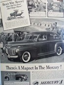 Mercury There's A Magnet Ad 1941