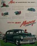 Mercury More Of Everything Ad 1947