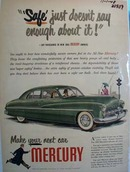 Mercury Safe Just Does Not Say Enough Ad 1948