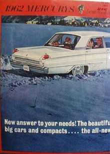 Mercury New Answer To Your Needs Ad 1961