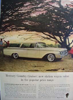 Mercury Country Cruiser Ad 1959