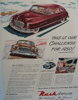 Nash This Is Our Challenge Ad 1949