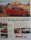 Nash Air Conditioning Costs Less Ad 1954