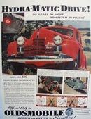 Oldsmobile Hydra Matic Drive Ad 1939
