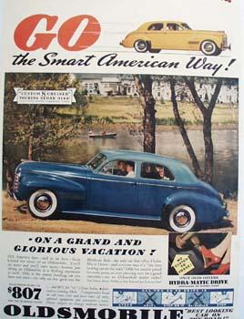 Oldsmobile Smart American Way Ad 1940