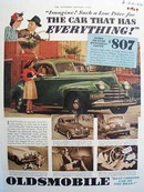 Oldsmobile Imagine Such A Low Price Ad 1940