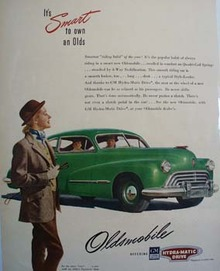 Oldsmobile Smart To Own Ad 1947