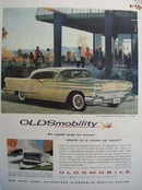 Oldsmobile Agile Way To Travel Ad 1958
