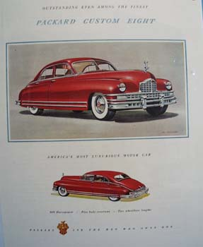 Packard Americas Most Luxurious Car Ad 1948
