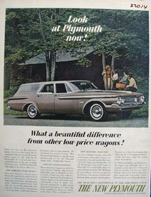 Plymouth Beautiful Difference Ad 1961