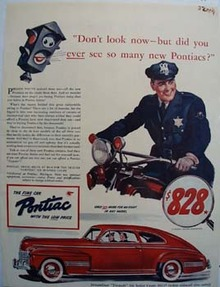 Pontiac Do Not Look Now Ad 1941