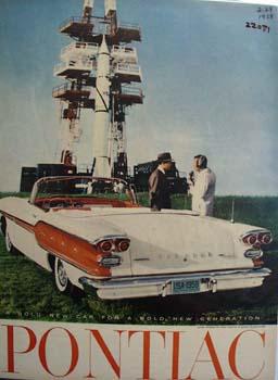 Pontiac Bold New Car Ad 1958