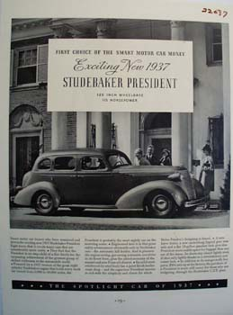 Studebaker Exciting 1937