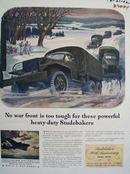 Studebaker No War Front To o Tough Ad 1942