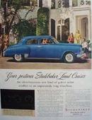 Studebaker Postwar Land Cruiser Ad 1947