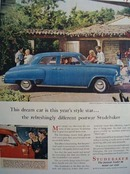Studebaker Dream Car Ad 1947