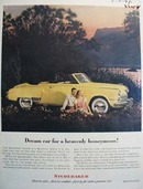 Studebaker For a Heavenly Honeymoon Ad 1948