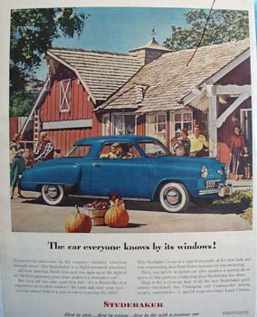 Studebaker Car Everyone Knows Ad 1948
