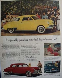 Studebaker How Proudly You Drive Ad 1949
