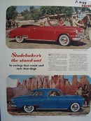 Studebaker The Stand Out Ad 1949