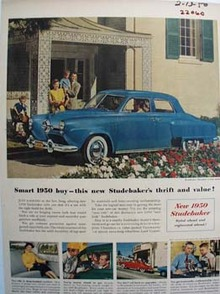 Studebaker Thrift And Value Ad 1950
