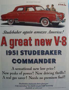 Studebaker Again Amazes America Ad 1950