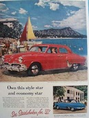 Studebaker Own This Style Star Ad 1952