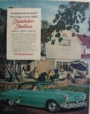 Studebaker Stand Out In Style Ad 1952