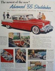 Studebaker Newest Of New Ad 1955
