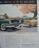 Studebaker Craftsmanship Makes Difference Ad 1956