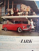 Studebaker Lark Look Over The One Ad 1959