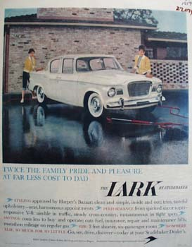 Studebaker Twice Family Pride Ad 1959