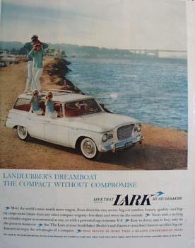 Studebaker Lanlubbers Dreamboat Ad 1960