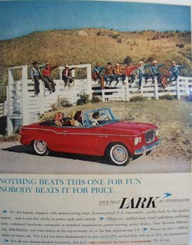 Studebaker Nothing Beats This One Ad 1960